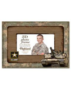 4x6 3D Photo Frame ARMY