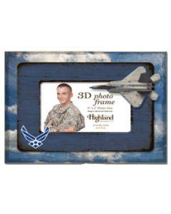 4x6 3D Photo Frame USAF