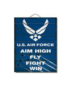 12x18 SlatSign AF-AIM HIGH